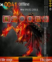 Fire Horse 2.0 theme screenshot