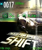 NFS Shift 05 theme screenshot