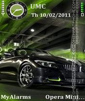 BMW green theme screenshot