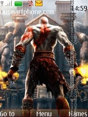 God Of War 07 theme screenshot