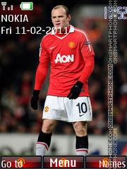 Wayne Rooney 02 theme screenshot