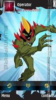 Swamp fire Ben10 theme screenshot