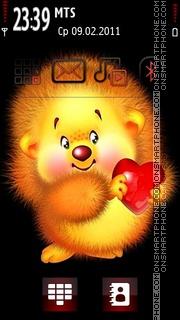 Cute Heart theme screenshot