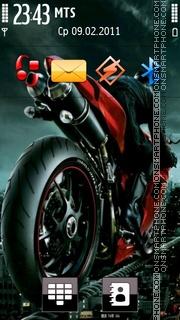 Ducati 1090 theme screenshot