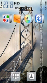 Beautiful Bridge es el tema de pantalla