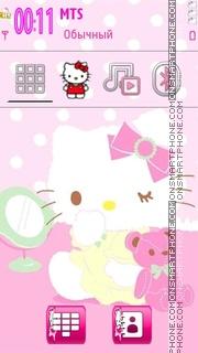 Скриншот темы Hello Kitty 40