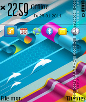 Coloreful theme screenshot