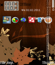 Blackberry 01 theme screenshot