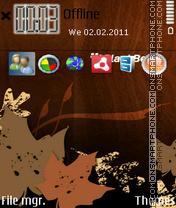 Скриншот темы Blackberry 01