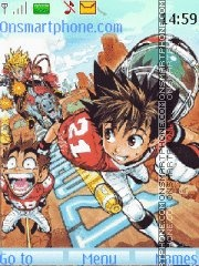 Eyeshield 21 theme screenshot