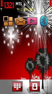 Fireworks v1 theme screenshot