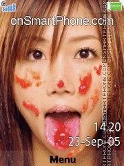 Capture d'écran Ai Otsuka Love Jam thème