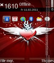 Angel Heart 02 theme screenshot