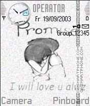 Promise theme screenshot