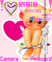 Valentine Cupid Theme-Screenshot