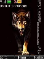Angry Wolf Hd es el tema de pantalla