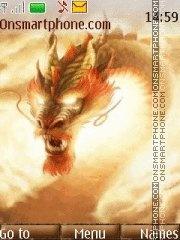 Dragon in sky es el tema de pantalla