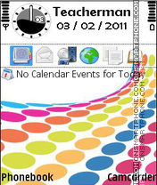 Colours tema screenshot