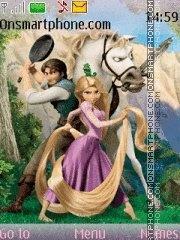 Скриншот темы Rapunzel