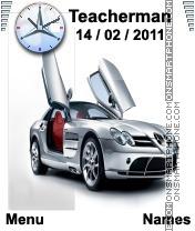 Mercedes SLR es el tema de pantalla