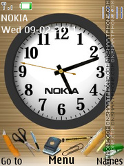 Office Nokia theme screenshot