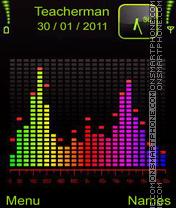 Скриншот темы Colours Equilaizer