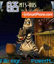 Madagascar 01 theme screenshot