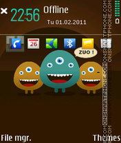 ZUO 01 tema screenshot