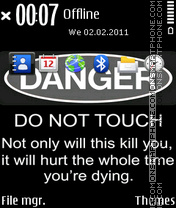 Danger 11 theme screenshot