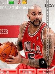 Chicago Bulls 04 theme screenshot
