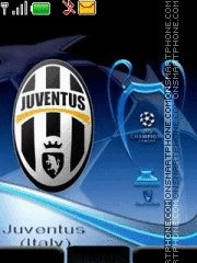 Juventus 2011 theme screenshot