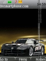 Dodge Viper 12 theme screenshot