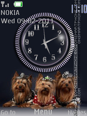 Les terriers theme screenshot