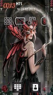 Скриншот темы Magical Fairy 01