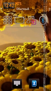Sunflower 08 theme screenshot