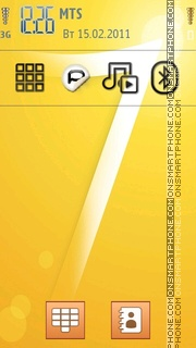 Windows 7 Sticker theme screenshot