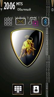 Скриншот темы Lamborghini 04
