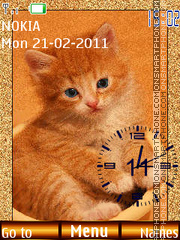 Ginger Kitten theme screenshot