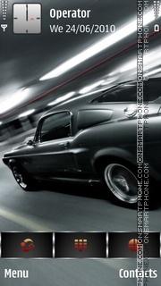 Shelby-gt500 theme screenshot