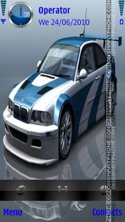 BMW m3 GTR theme screenshot
