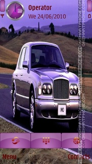 Bentley arnage theme screenshot