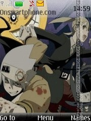 Soul Eater theme screenshot