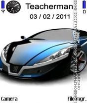 Beautiful New Car es el tema de pantalla