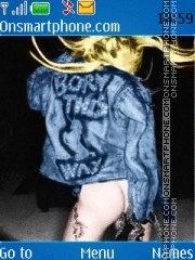 Born This Way es el tema de pantalla