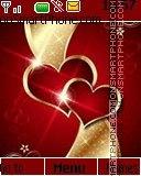 Valentine hearts es el tema de pantalla