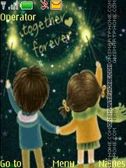 Together forever anim theme screenshot