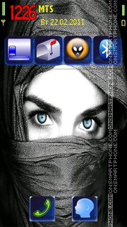 Eyes by Kallol theme screenshot