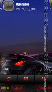 Night rider by di_stef theme screenshot