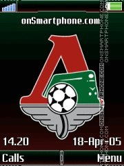 FC Lokomotiv Black K790 tema screenshot