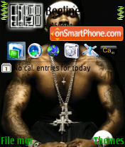 50 Cent 01 theme screenshot